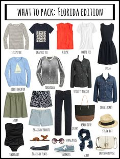 Here is Florida Outfit Ideas for you. Florida Outfit Ideas packing list for winter in florida winter in florida. Florida Outfits, Beach Vacation Outfits, Florida Fashion, Florida Vacation, Travel Outfits, Travel Fashion, Beach Trip, Theme Park Outfits, Hawaii Outfits