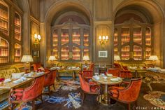 Bref, on a dormi au Ritz Paris - Silencio - Le Salon Proust de l'hôtel