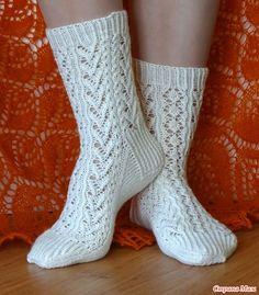 Ravelry: Melody of wool Socks pattern by Liliya Patashka Wool Socks, Knitting Socks, Knitting Patterns Free, Free Knitting, Mitten Gloves, Mittens, Slipper Socks, Crochet Slippers, Yarn Crafts
