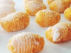 Ñoquis de calabaza (sin gluten)   Pumpkin gnocchi (gluten free)