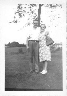 Black and White Vintage Snapshot Photograph Couple Hug Dress Yard 1950'S | eBay