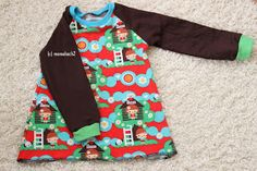 Mamahoch2: Raglan Tunika oder A-Form-Kleid