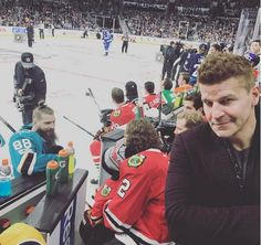 dbdbo69 Not a bad seat. @nhl (Instagram 29 January 2017)