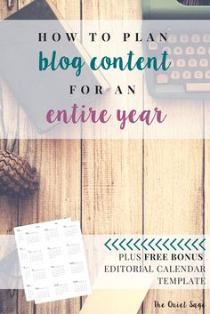 As a stay-at-home mom who makes money from an online business, I know that time and productivity matter a LOT. That�s why I want to share one of my very best tips for getting things done fast and efficiently: planning out my blog content for an entire yea
