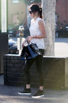 """ December 22, 2014 - Out and about in Beverly Hills. """