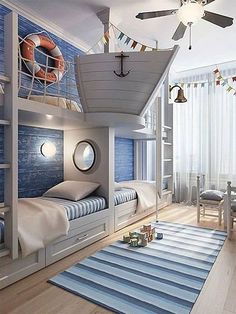 A perfect room for a young sailor