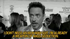 32 Reasons Robert Downey Jr. is the Most Perfect Man in the Universe. Click through to see the list.