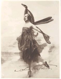 Anna Pavlova-Russian Ballerina in the 19th century