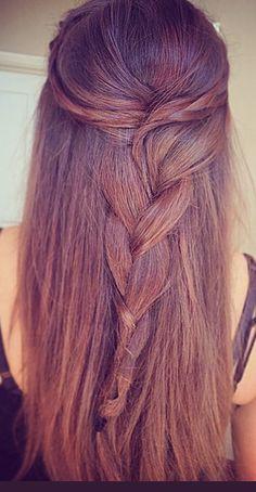 Hair plait ☺️