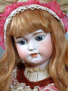 "*MAGNIFICENT* 28"" SIMON & HALBIG 1079 Antique German Doll in FABULOUS Costume!"