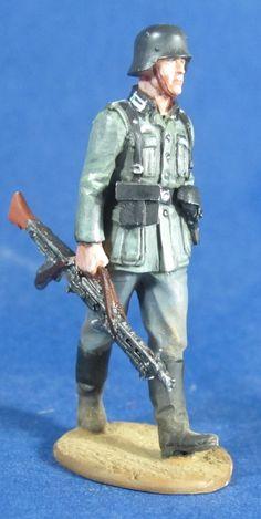 WW 087 WEHRMACHT MG 42 GUNNER