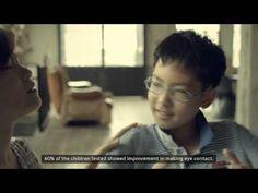 Look At Me تطبيق يساعد أطفال التوحد في تطوير مهارات التواصل الاجتماعي بأسلوب مرح و سلس.