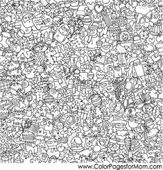 winter magic coloring book pages Google Search Coloring
