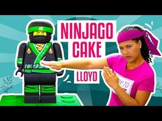 How To Make LLOYD From The NEW LEGO NINJAGO MOVIE Out Of CAKE | Yolanda Gampp | How To Cake It - YouTube