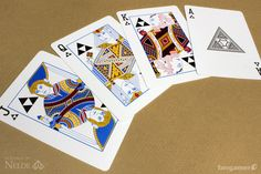 """""""Cards of Legend"""" deck designed by Needle and inspired by the Legend of Zelda game series. $15.00."""