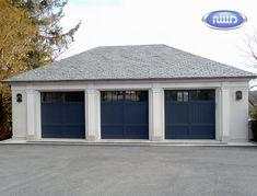 Heritage Classic Model CL04S Painted Meranti Garage Door