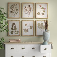 This leaf prints under glass are the perfect addition to any room. Whether clustered together on a large wall in your living room or scattered throughout your home, they are sure to make a statement. Not to mention, with muted colors and simple wooden frames, they are sure to look incredible with your existing decor.
