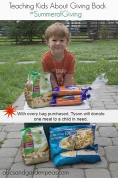 Ad: Join Tyson in their #SummerofGiving - for every bag purchased, they'll donate a meal to a child in need! #shop