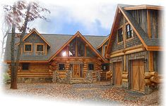 The Rose Log Home Plan  Log Homes Canada