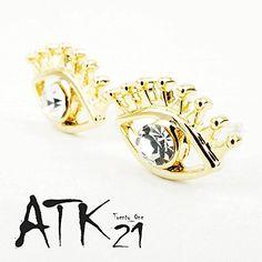 [ATK21] 目玉 目 アイ スタッドピアス おもしろアイテム Silverpost925 シルバー ゴールド ...…