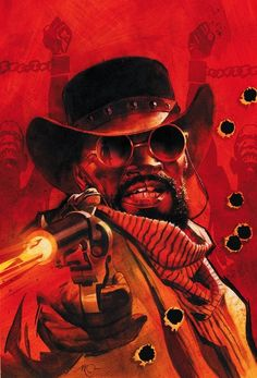 Quentin Tarantino Crosses Over With Zorro In Django Unchained Sequel, With Dynamite, DC Comics And Matt Wagner Django Unchained, Jim Lee, Comic Book Covers, Comic Books Art, Matt Wagner, Django Desencadenado, Quentin Tarantino Films, Crossover, Movie Posters