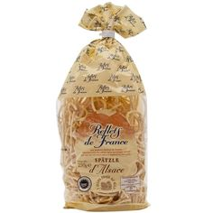 Reflets de France spaetzle. Eggy noodles from the Alsace. We love them with roast chicken.