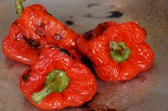 roasted red peppers for Roasted Red Pepper Corn Chowder