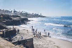 🔍 View of People on Beach - new photo at Avopix.com    🆗 https://avopix.com/photo/62151-view-of-people-on-beach    #water #beach #sea #sky #landscape #avopix #free #photos #public #domain
