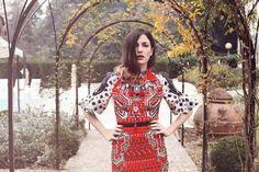 Absolutely Ladylike wearing Peter Pilotto Photo by Sara Mautone for @LUISAVIAROMA.COM