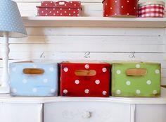 ~♥~3 bunte Holzkisten ~♥~ Box Kiste Holz Kinder