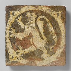 or century Geography: Made in, Nottingham, England Culture: English Medium: Fired earthenware, with slip decoration and lead glaze Medieval World, Medieval Art, Medieval Fantasy, Tile Art, Mosaic Tiles, Mosaics, Renaissance, Antique Tiles, Encaustic Tile