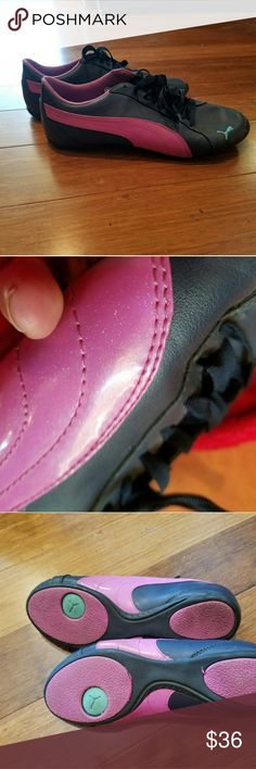 PUMA dance shoes Dark navy blue and sparkling pink. Puma Shoes Athletic Shoes