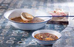 Σούπα φακή με κανπνιστό λουκάνικο