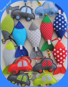 Love the cars.. Baby toys or shirt applique
