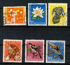 Schweiz Briefmarken  Mehr dazu: http://sammler.com/bm/briefmarken-schweiz.htm