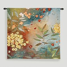 One of my favorite discoveries at WorldMarket.com: Gardens in the Mist Tapestry Wall Hanging
