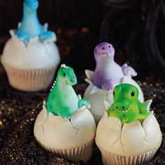 Dinosaur Eggs Cupcakes