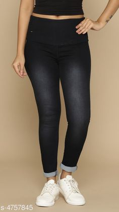 Checkout this latest Jeggings Product Name: * Denim Womens Jeans* Fabric: Denim Pattern: Solid Multipack: 1 Sizes:  32 Country of Origin: India Easy Returns Available In Case Of Any Issue   Catalog Rating: ★4.1 (369)  Catalog Name: Fashionista Denim Womens Jeans Vol 3 CatalogID_692612 C79-SC1032 Code: 115-4757845-5331