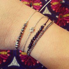 La mania des bracelets associés... Un must have du moment sur www.accessfolies.fr