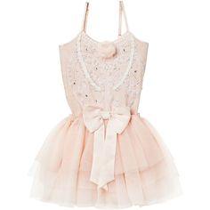 SWEET PEA TUTU DRESS- MILKSHAKE - www.tutudumonde.com ($145) ❤ liked on Polyvore featuring dresses and pink dress