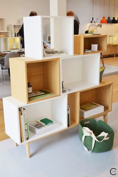 STACKED shelf system | Muuto at C-More interieuradvies.blogspot.nl