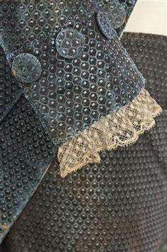 Ensemble (image 4)   Spain   1785-1800   silk   Textilteca CDMT   Museum #: 11628
