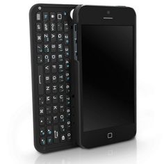 iPhone 5 - keyboard case. Wonder if there is one for the Galaxy III?