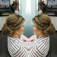 #hair #cabello #updo #recogido #braid #trenza #axelbraid #axeltrenza #axelupdo #axelrecogido #hairdresser #hairstylist #estilista #peluquero #Panama #pty #pty507 #picoftheday #multiplaza #behindthechair