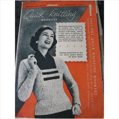 1950's Woman magazine pullout booklet 10 knitting patterns on eBid United Kingdom