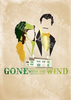 Everyday Mom Ideas: Gone With The Wind Movie Poster Project