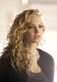 """Liv wears a Forever 21 Faux Leather Trimmed Varsity Jacket on The Vampire Diaries """"Rescue Me"""". Shop it: http://www.pradux.com/forever-21-faux-leather-trimmed-varsity-jacket-27526?q=s3"""