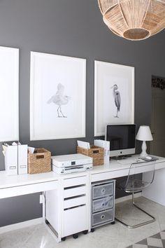 135 best office desks images home office desk home office decor rh pinterest com