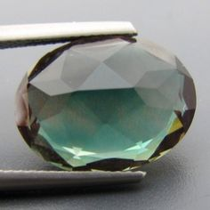 CERT 8.85ct Teal BLUE/Green Dichroic OREGON SUNSTONE $600