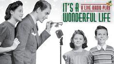 """It's a Wonderful Life: A Live Radio Play"" @ Attic Community Theater (Santa Ana, CA)"